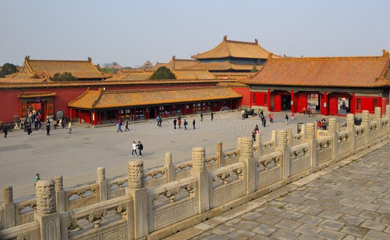 Forbidden City, Beijing. Square Forbidden City, Beijing, China stock image