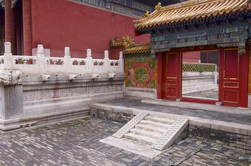 Forbidden City stock images