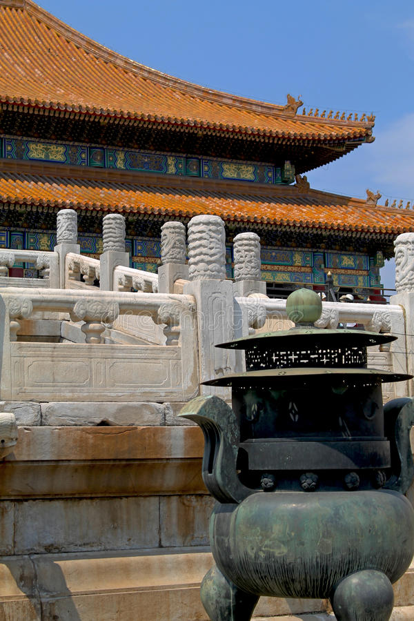 Forbidden city greatest architecture royalty free stock photos