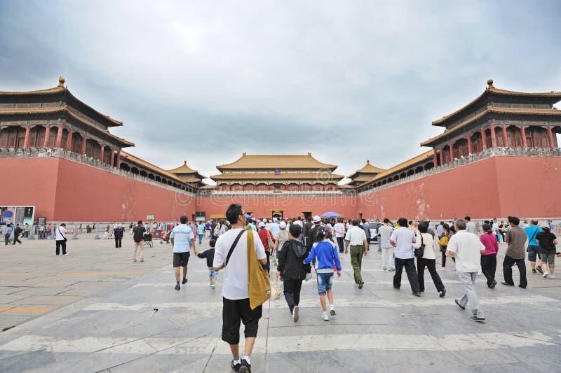 The Forbidden City (Gu Gong) stock photos