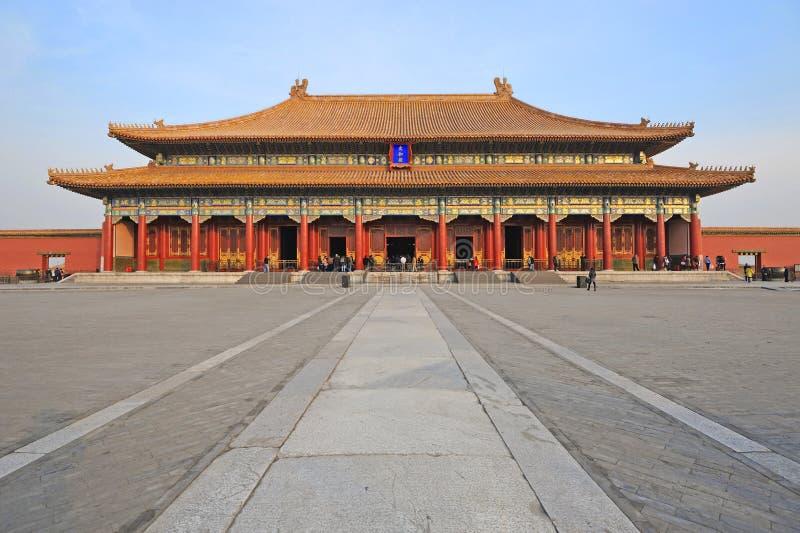 The Forbidden City (Gu Gong) royalty free stock photography
