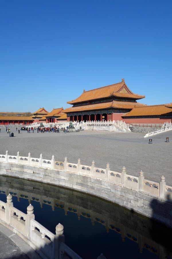 The Forbidden City (Gu Gong) stock image