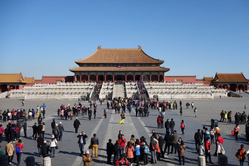 The Forbidden City (Gu Gong) stock images