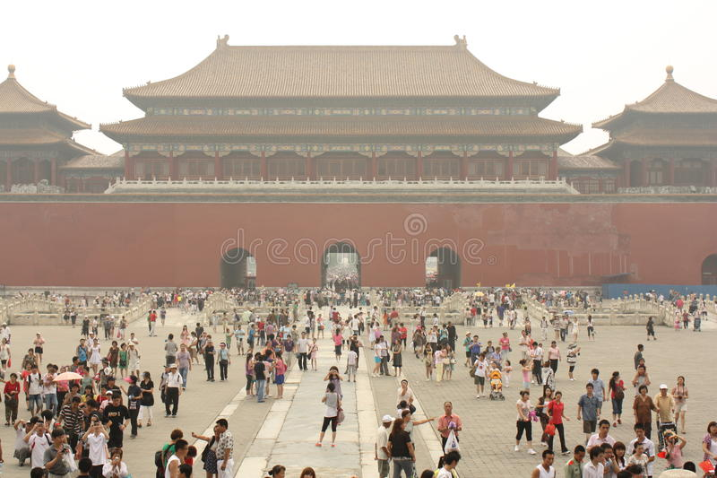 Forbidden City (Gugong) royalty free stock photography