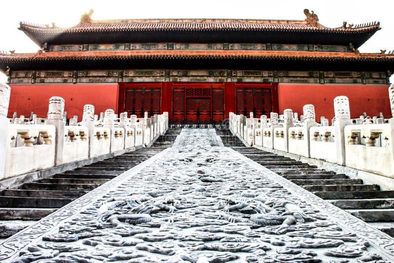 Forbidden City Peking, Kina royaltyfria bilder