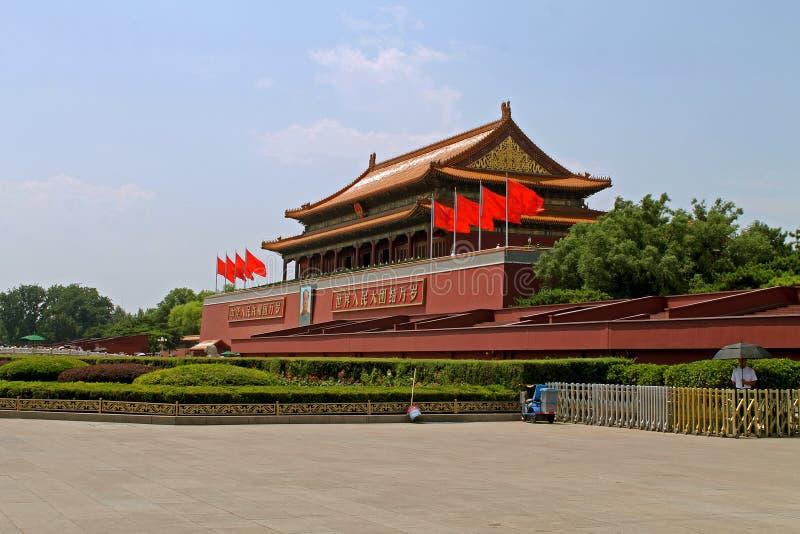 Forbidden City störst arkitektur arkivfoto