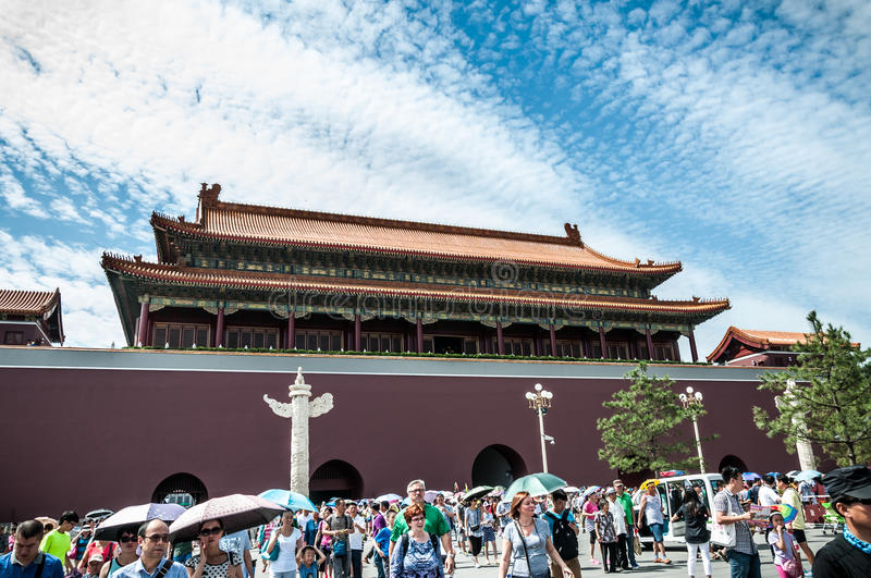 Download Forbidden City editorial photography. Image of beijing - 33482357