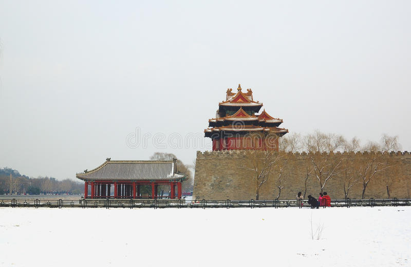 Download Forbidden city turret stock image. Image of built, famous - 19927177
