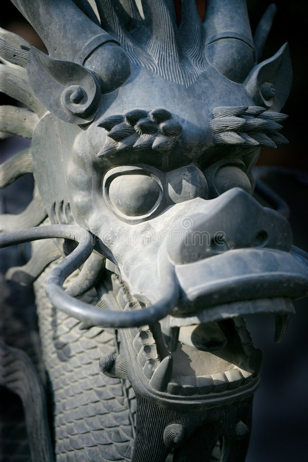 Forbidden dragon stock images
