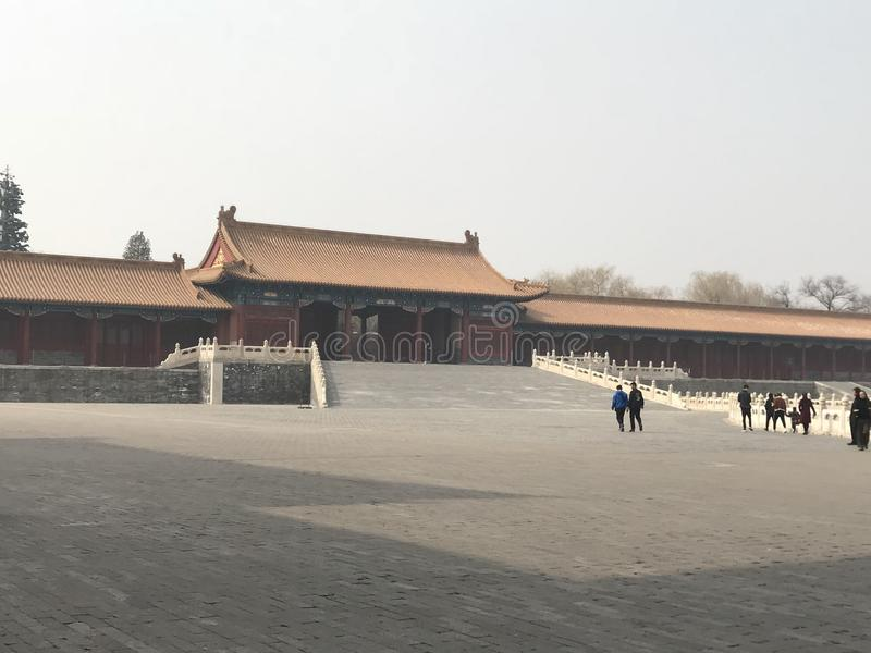 Forbidden palace royalty free stock images