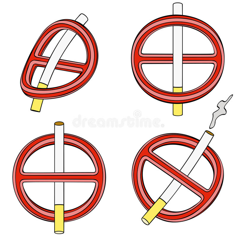 Download It Is Forbidden To Smoke (four 3d Sign) Stock Vector - Illustration of forbidden, smoke: 32413095
