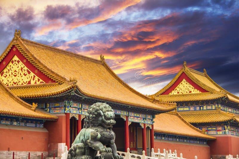 Forbiddenet City av Peking arkivbild