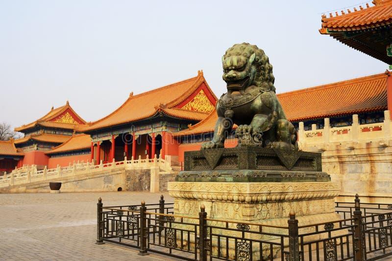 Forbiddenet City, beijing royaltyfri bild