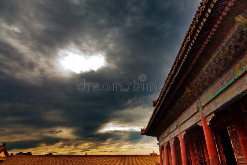 Forbiddenet City, Beijing, Kina royaltyfria bilder