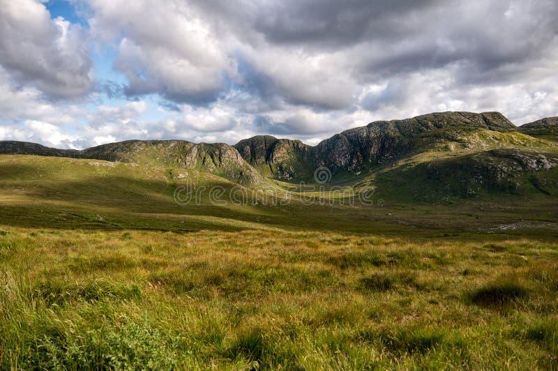 Forboding Sky over Irish Landscape royalty free stock photography