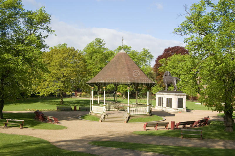 Forbury Gardens, Reading, Berkshire Royalty Free Stock Image