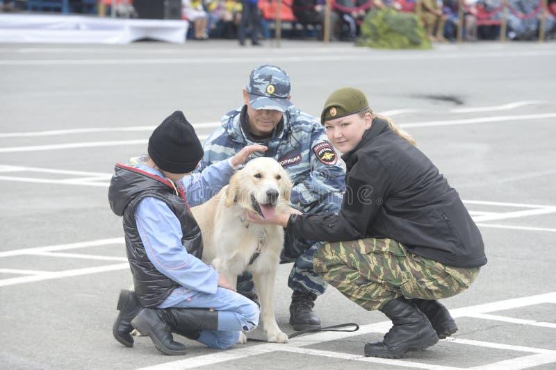 Force de police spéciale OMON photo libre de droits