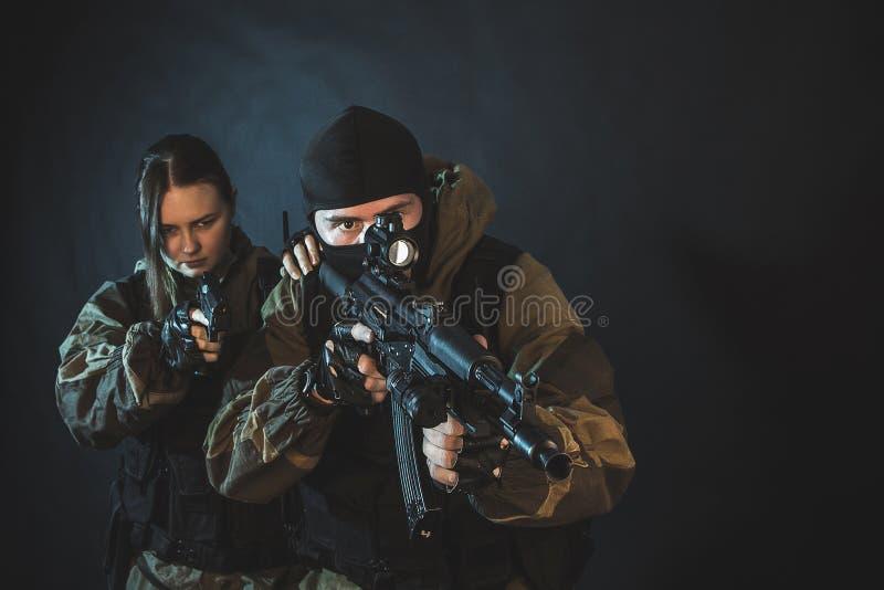 Force spéciale photographie stock