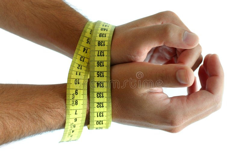 Forced diet royalty free stock photos