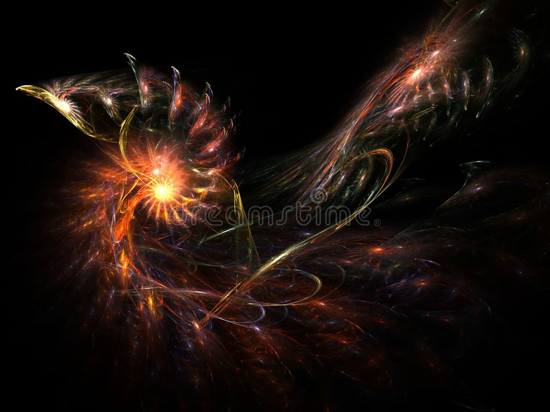 forcerad galax royaltyfria bilder