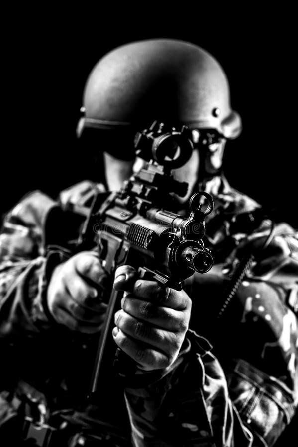 Forces armées image stock