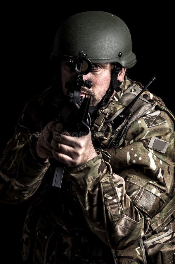 Forces armées photo stock