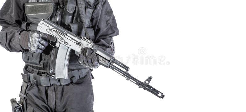 Forces spéciales russes image stock