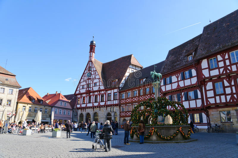 forchheim Германия стоковое фото rf
