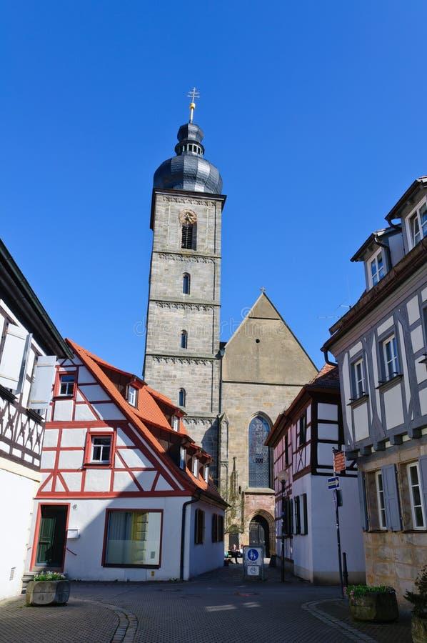 Forchheim, Germania immagini stock libere da diritti