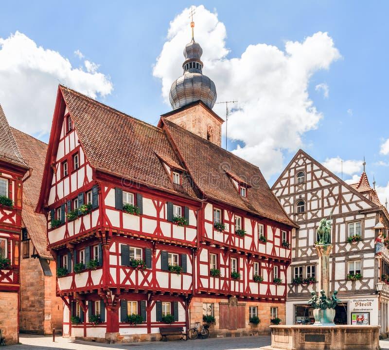 Forchheim Oude Stad royalty-vrije stock afbeeldingen