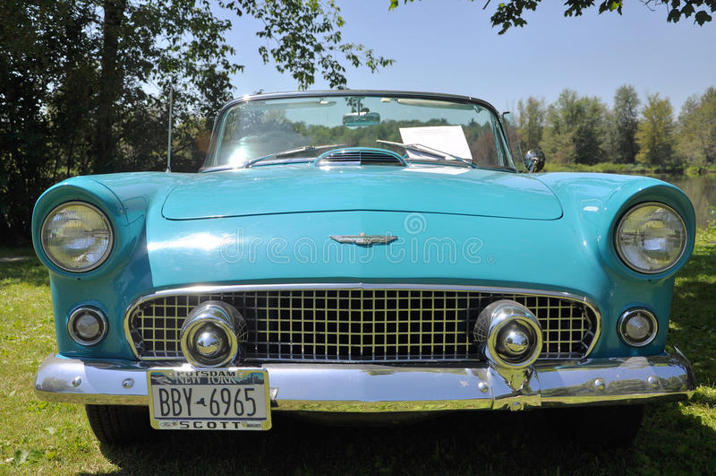 Ford 1956 Thunderbird photo libre de droits