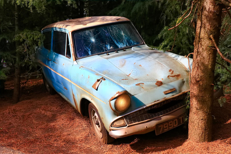 Ford Anglia royalty-vrije stock foto