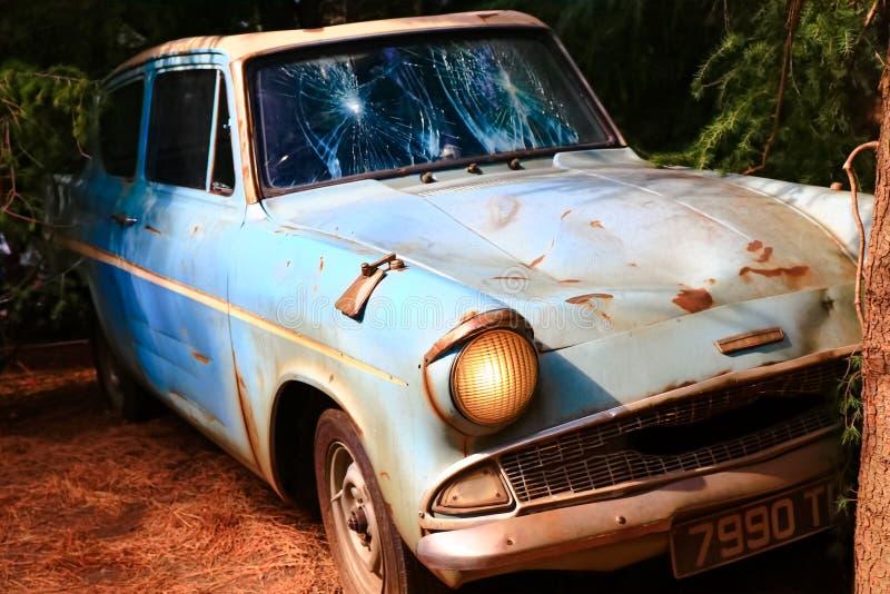 Ford Anglia fotografia de stock