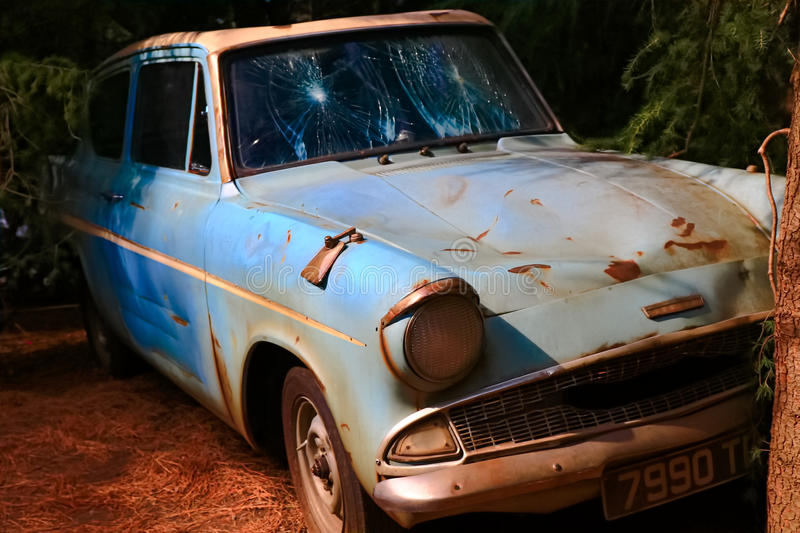Ford Anglia stock foto