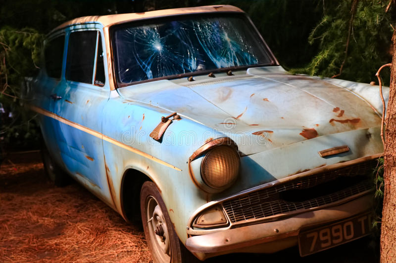 Ford Anglia royalty-vrije stock fotografie