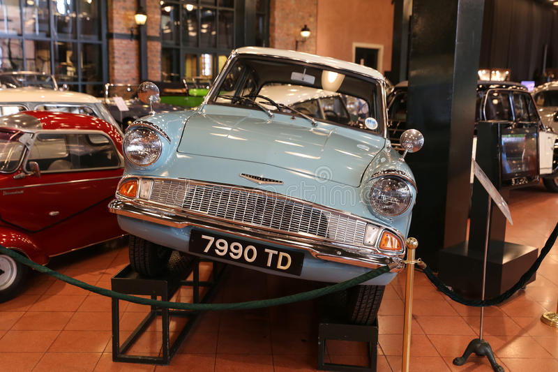 1966 Ford Anglia Super royalty-vrije stock fotografie