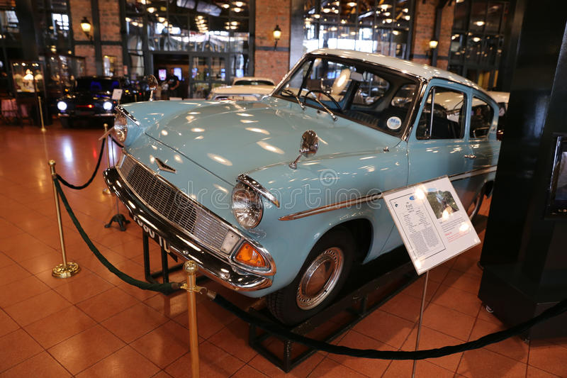 1966 Ford Anglia Super stock afbeeldingen