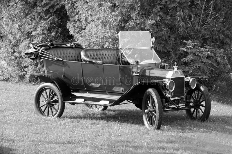 Ford-Auto 1913 stockbilder