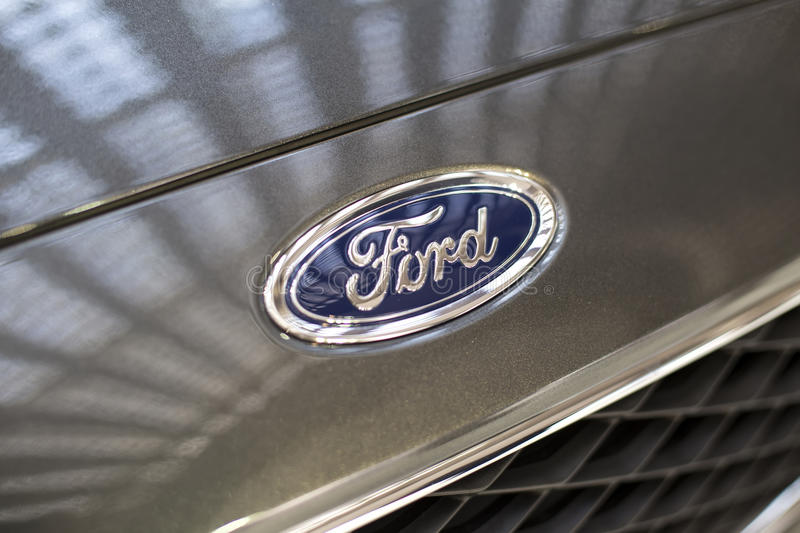 Ford-auto stock afbeelding