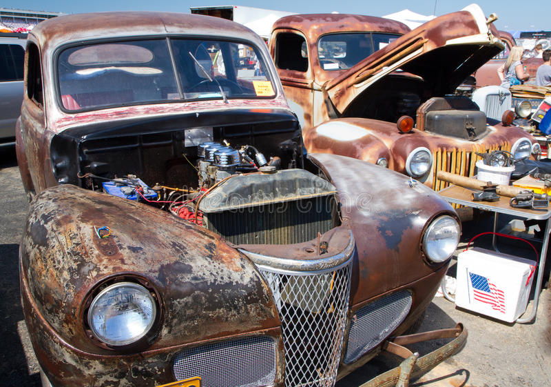 Ford Automobiles non restauré classique photo stock