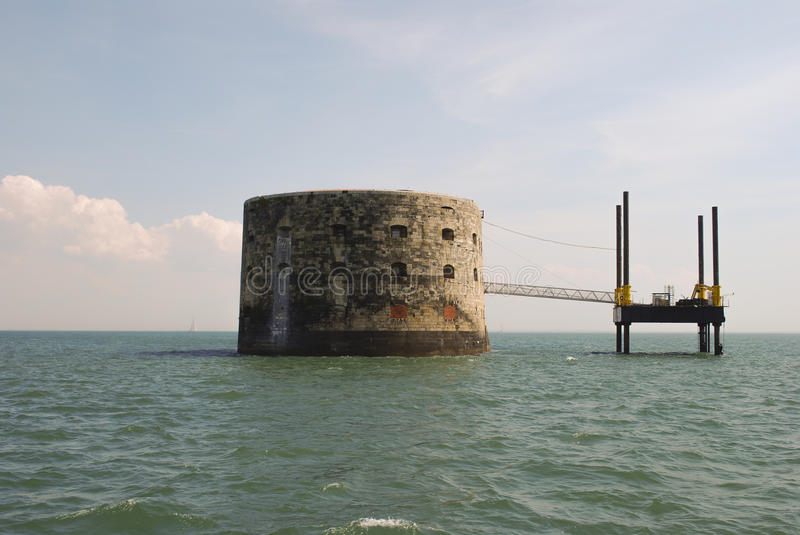 Ford Boyard, La Rochelle, France. royalty free stock photo