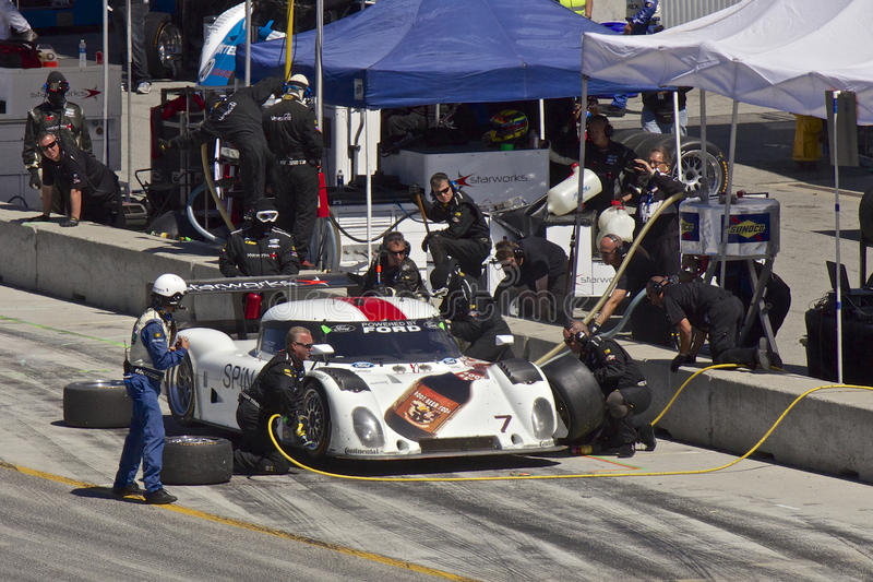 Ford Can-Am at pit stop at Grand AM Rolex Races