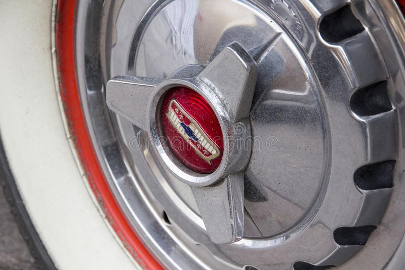 1957 Ford Chevrolet Bel Air GMC στοκ εικόνες