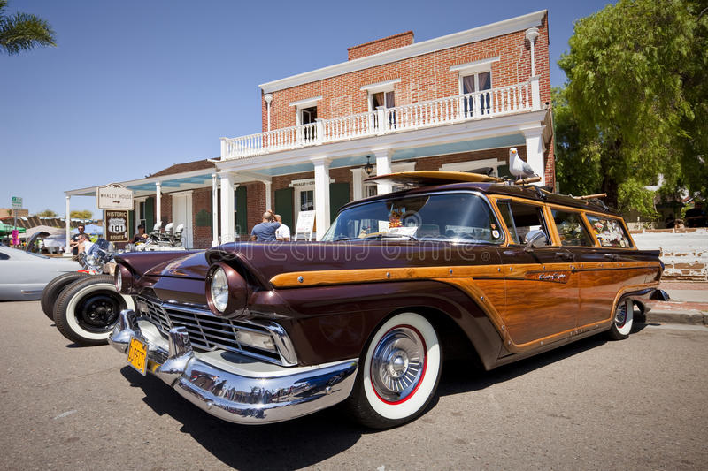 Ford Country Squire Classic Car stock photography