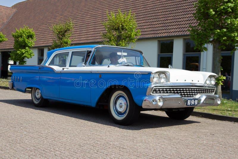 1960 Ford Custom 300 stock foto's