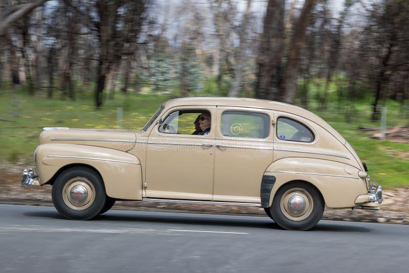 Ford Deluxe Sedan 1946 foto de archivo libre de regalías