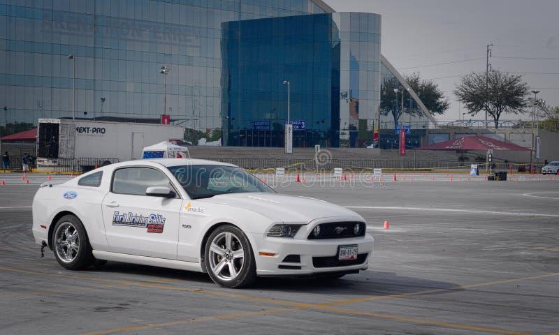 Ford Driving Skills Demo imagen de archivo