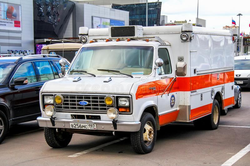 Ford Econoline images stock