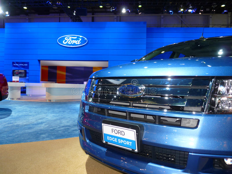 Ford Edge Vehicle on Display royalty free stock photography