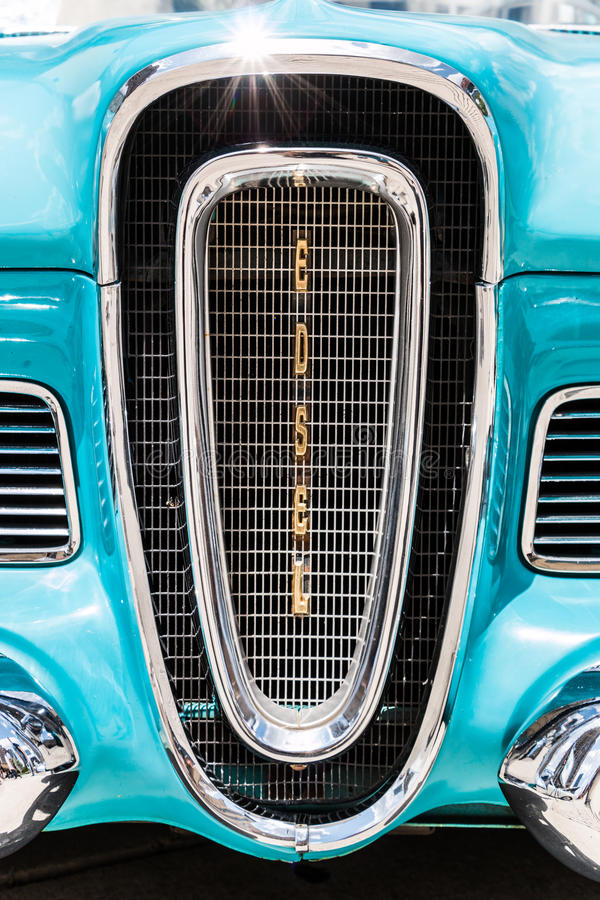 Free Ford Edsel Front Grill Stock Image - 42278261